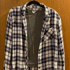 Beachlunchlounge Plaid Button Up